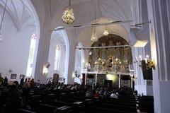 Das Organ Hall der Kathedrale Lizenzfreies Stockfoto