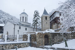 Das ortodox Kloster stockbilder