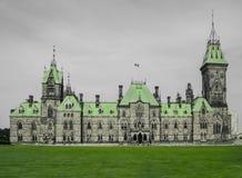 Das Ostabteilungsgebäude des Parlaments-Hügels, Ottawa, Ontario, Kanada Lizenzfreie Stockfotografie