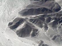 "Das ""the Owlman alias Astronautâ€-, Nazca zeichnet Lizenzfreies Stockfoto"