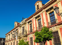 Das Palacio Arzobispal in Sevilla - Spanien, Andalusien lizenzfreie stockfotos
