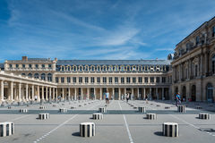 Das Palais Royal in Paris Stockbild