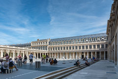 Das Palais Royal in Paris Lizenzfreie Stockfotografie