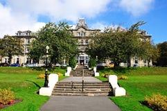 Das Palast-Hotel, Buxton stockbild