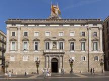 Das Palau de la Generalitat Stockfoto