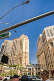 Das Palazzo-Luxushotel Las Vegas Stockfoto