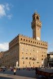Das Palazzo Vecchio in Florenz, Italien Lizenzfreies Stockfoto