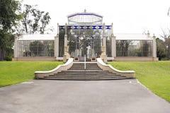 Das Palmen-Haus, Adelaide Botanic Garden, Süd-Australien Stockbild