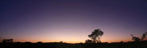 Australisches Hinterland. Lizenzfreies Stockfoto