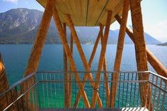 Das panoramische Betrachtungsplattform ⠁â â Aussichtsturm, Österreich Lizenzfreie Stockfotos