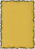 Das Papier der Goldfarbe - Scheine Stockfotos