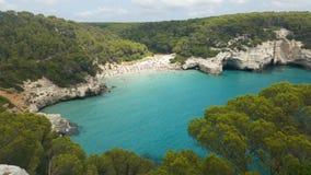 Das Paradies in Cala Mitjana stockfoto