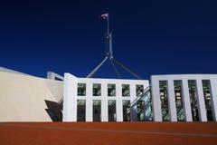 Das Parlament bringen in Canberra, Australien unter Lizenzfreies Stockfoto