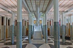 Das Parlament bringen Foyer Australien unter Lizenzfreie Stockfotografie