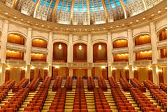 Das Parlament - Innenraum Stockbilder