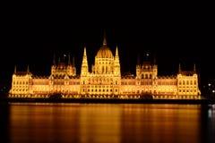 Das Parlament von Budapest Lizenzfreies Stockbild