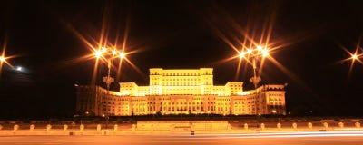 Das Parlaments-Gebäude Lizenzfreie Stockfotos