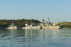 Das Patrouillenschiff neugierig, Admiral Grigorovich Stockfotos