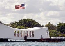 Pearl Harbordenkmal stockfoto