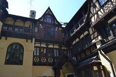 Das PeliÅŸor-Schloss Lizenzfreies Stockfoto