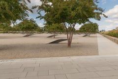 Das Pentagon-Denkmal im Washington DC - keine Namen auf Anzeige Lizenzfreies Stockbild
