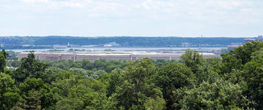 Das Pentagon-Gebäude in Nord-Virginia Stockfotografie