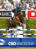 Das Pferd springend - Pedro Veniss Lizenzfreie Stockfotos