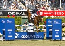 Das Pferd springend - Pedro Veniss Stockbild