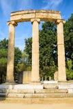Das Philippeion an der Olympia, Griechenland Stockfotografie