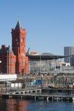 Das Pierhead-Gebäude, Cardiff Stockfotografie