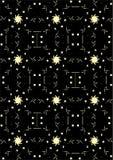 Das Piktogramm der Zeichen und der Symbole Stockbild