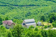 Das Piva-Kloster Lizenzfreies Stockfoto