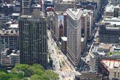 Das Plätteisen-Gebäude Stockfotografie