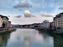 Das Ponte Vecchio in Florenz, Italien lizenzfreie stockfotografie