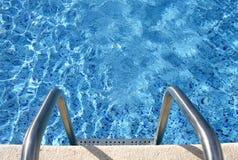 In das Pool Lizenzfreie Stockfotos