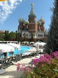 Das Pool im Hotel Lizenzfreie Stockbilder