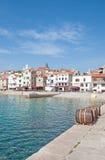 Baska, Krk Insel, Kroatien Stockfotografie