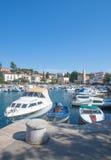 Malinska, Krk Insel, Kroatien Stockbilder