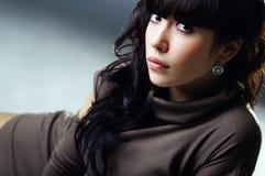 Das Portrait einer schönen Dame Stockfoto