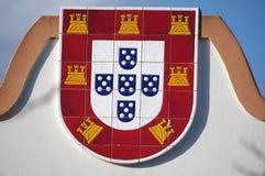 Portugiesisches Schild lizenzfreie stockfotos
