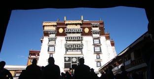 Das Potala-Palast Lizenzfreies Stockfoto