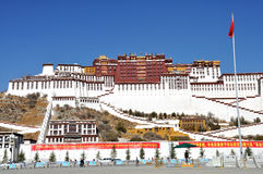 Potala-Palast Stockfotos