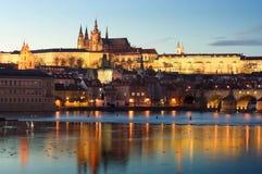 Das Prag-Schloss Lizenzfreies Stockbild