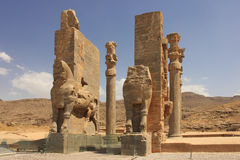 Das propylon bei Persepolis (der Iran) Stockbild