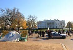 Das Protest- Weiße Haus, Washington Amerika stockfoto