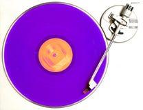 Das purpurrote Album stockbild