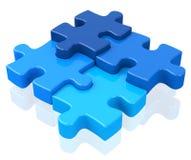 Das Puzzlespiel Stockbilder