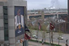 Das Q - Cleveland, OH- Stockfotografie