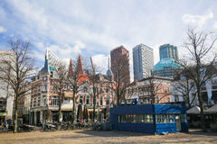 Das Quadrat in Den Haag, die Niederlande Lizenzfreie Stockfotografie