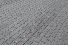 Das Quadrat oder die Pflasterung der Granit- oder rechteckigen Fliesengraumarmorierungfarbe Lizenzfreie Stockfotografie